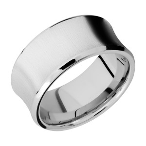 Lashbrook CC10CB Cobalt Chrome Wedding Ring or Band