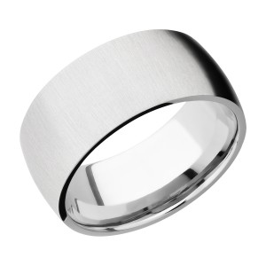 Lashbrook CC10D Cobalt Chrome Wedding Ring or Band