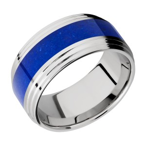 Lashbrook CC10F2S15/MOSAIC Cobalt Chrome Wedding Ring or Band