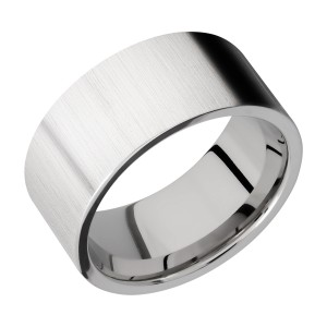 Lashbrook CC10FR Cobalt Chrome Wedding Ring or Band