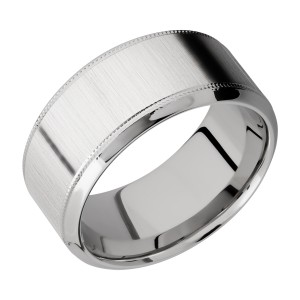 Lashbrook CC10HB2UMIL Cobalt Chrome Wedding Ring or Band