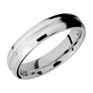 Lashbrook CC5B11U Cobalt Chrome Wedding Ring or Band
