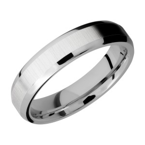 Lashbrook CC5B Cobalt Chrome Wedding Ring or Band