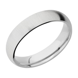 Lashbrook CC5D Cobalt Chrome Wedding Ring or Band