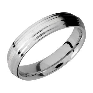 Lashbrook CC5F2S Cobalt Chrome Wedding Ring or Band