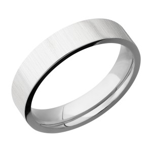 Lashbrook CC5FR Cobalt Chrome Wedding Ring or Band