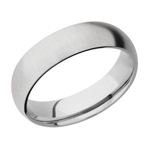 Lashbrook CC6D Cobalt Chrome Wedding Ring or Band