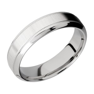 Lashbrook CC6HB2UMIL Cobalt Chrome Wedding Ring or Band
