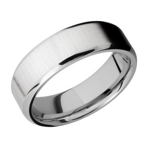 Lashbrook CC7B Cobalt Chrome Wedding Ring or Band