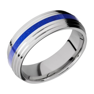 Lashbrook CC7F2S12/MOSAIC Cobalt Chrome Wedding Ring or Band
