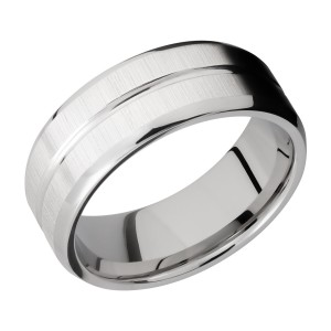 Lashbrook CC8B11U Cobalt Chrome Wedding Ring or Band