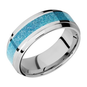 Lashbrook CC8B14(S)/MOSAIC Cobalt Chrome Wedding Ring or Band