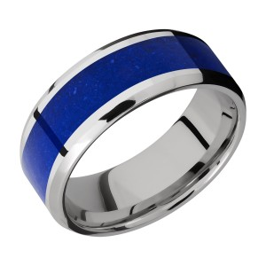 Lashbrook CC8B15(NS)/MOSAIC Cobalt Chrome Wedding Ring or Band