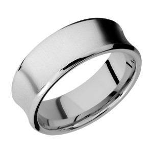 Lashbrook CC8CB Cobalt Chrome Wedding Ring or Band