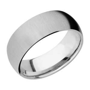 Lashbrook CC8D Cobalt Chrome Wedding Ring or Band