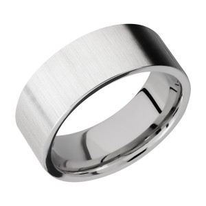 Lashbrook CC8FR Cobalt Chrome Wedding Ring or Band