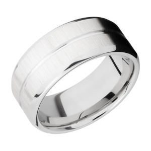 Lashbrook CC9B11U Cobalt Chrome Wedding Ring or Band