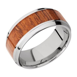 Lashbrook CC9B16(S)/HARDWOOD Cobalt Chrome Wedding Ring or Band