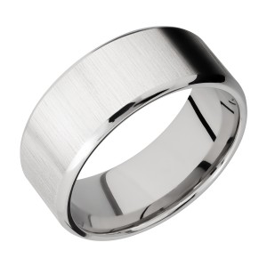 Lashbrook CC9B Cobalt Chrome Wedding Ring or Band