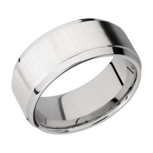 Lashbrook CC9B(S) Cobalt Chrome Wedding Ring or Band