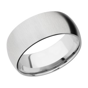 Lashbrook CC9D Cobalt Chrome Wedding Ring or Band