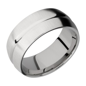 Lashbrook CC9DC Cobalt Chrome Wedding Ring or Band