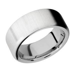 Lashbrook CC9FR Cobalt Chrome Wedding Ring or Band
