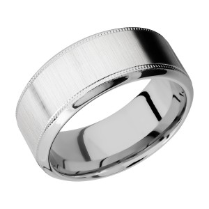 Lashbrook CC9HB2UMIL Cobalt Chrome Wedding Ring or Band