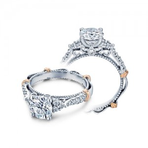 Verragio Parisian-127R Platinum Engagement Ring