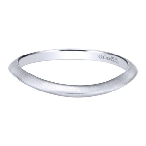Gabriel 14 Karat Contemporary Wedding Band WB911729R0W4JJJ
