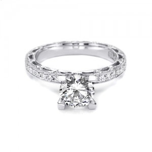 Tacori Crescent 18 Karat Engagement Ring HT2511A