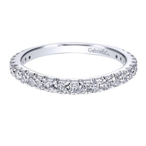 Gabriel 18 Karat Contemporary Wedding Band WB11999R6W83JJ