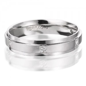 Verragio Platinum Diamond Wedding Band VWD-5924