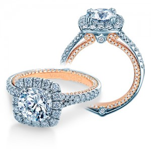 Verragio Couture-0434CU-TT 14 Karat Engagement Ring