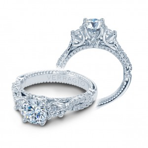 Verragio Couture-0475R Platinum Engagement Ring