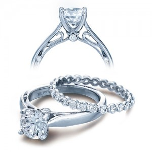 Verragio Platinum Couture Engagement Ring Couture-0409 R