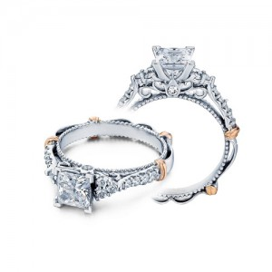 Verragio Parisian-127P 18 Karat Engagement Ring