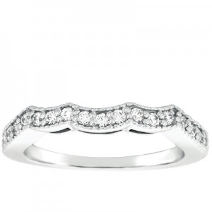 Taryn Collection 14 Karat Wedding Ring TQD B-5804