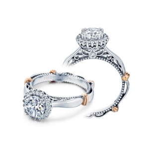 Verragio Parisian-118R Platinum Engagement Ring
