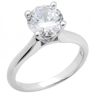 Taryn Collection 18 Karat Diamond Engagement Ring TQD 6566