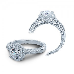 Verragio Venetian-5022R Platinum Engagement Ring
