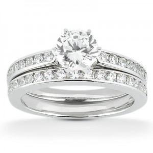 Taryn Collection Platinum Diamond Engagement Ring TQD A-2371