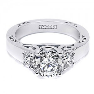 Tacori 18 Karat Neotare Engagement Ring 280175