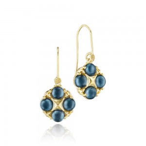 SE187Y37-1 Tacori Golden Bay Silver & Gold Earrings
