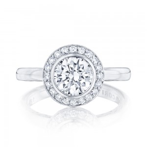 303-25RD7 Platinum Tacori Starlit Engagement Ring