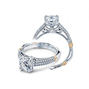 Verragio Parisian-114 Platinum Engagement Ring