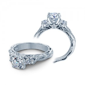 Verragio Venetian-5013R Platinum Engagement Ring