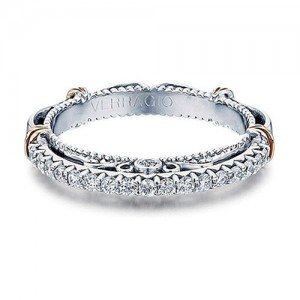 Verragio Parisian-121W Platinum Wedding Ring / Band