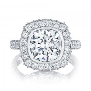 HT2614CU9 Platinum Tacori RoyalT Engagement Ring