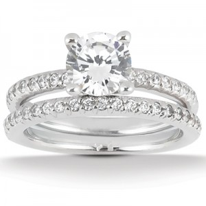 Taryn Collection Platinum Diamond Engagement Ring TQD A-8801